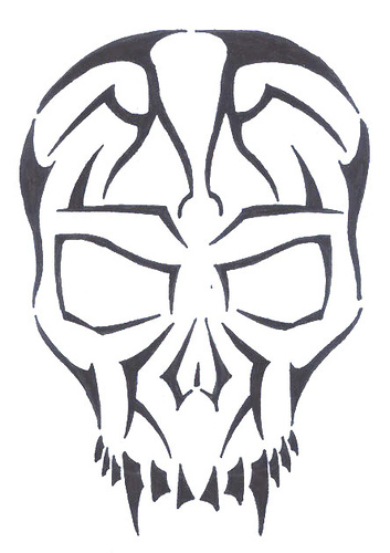 Skull Tattoo Designs Easy