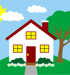 clipart houses apartments clipart library free clipart images [ 5668 x 4121 Pixel ]