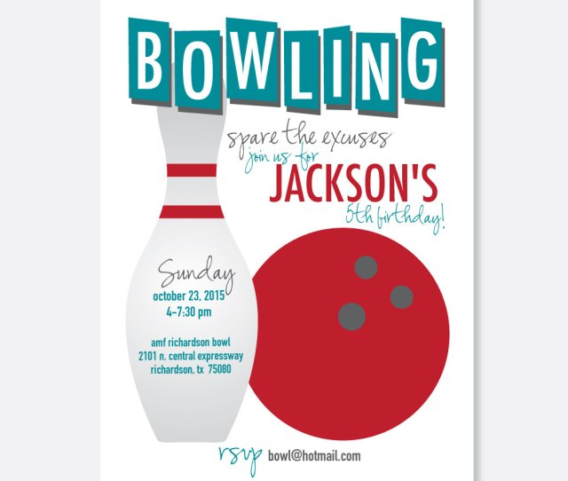 Cherylins Creations Bowling Party Invitations Popular Items For Retro Bowling On Etsy