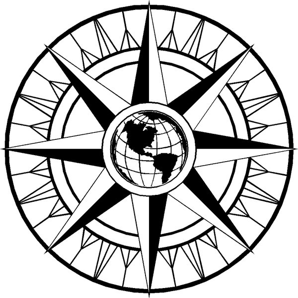 Free Fancy Compass Rose, Download Free Clip Art, Free Clip