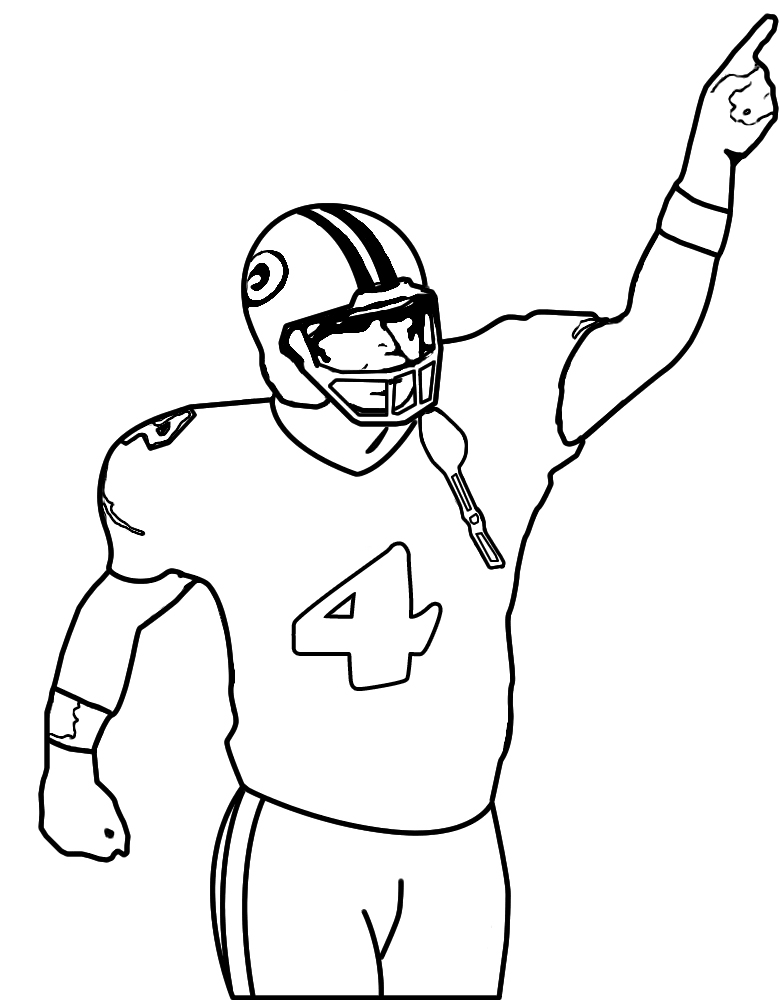 Free Drawing Of A Football Player, Download Free Clip Art