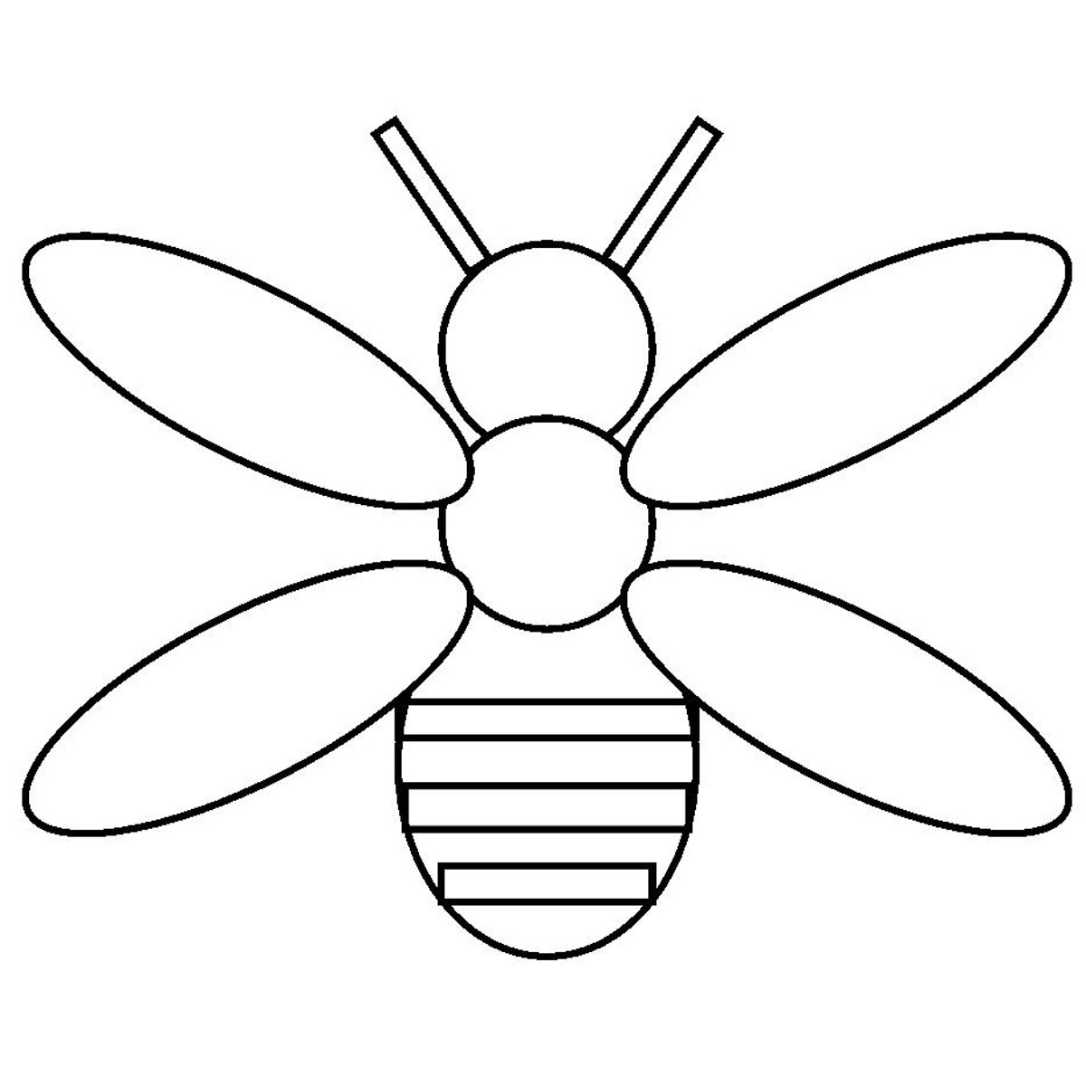 Free Bee Template Download Free Clip Art Free Clip Art On Clipart Library