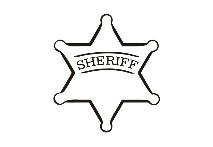 Free Sheriff Star, Download Free Clip Art, Free Clip Art