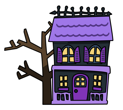 small resolution of free scary free halloween clip art images witches school clipart