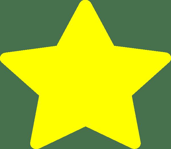 free large star template printable