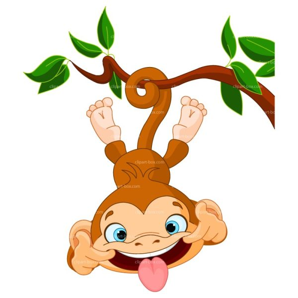 Clipart Funny Ape Royalty Library - Free