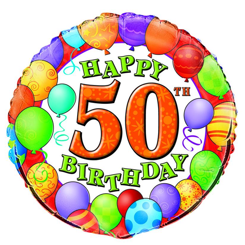 free happy 50th birthday