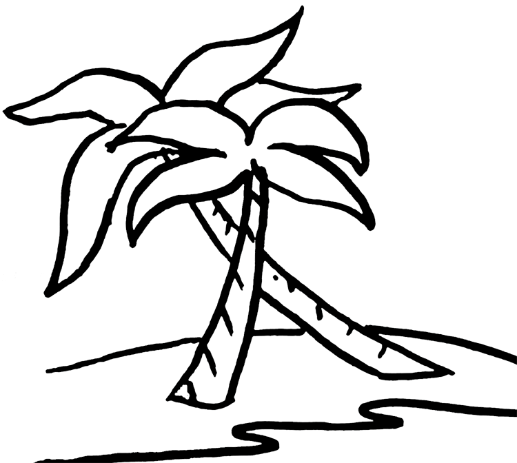 Free Palm Tree And Beach Pictures, Download Free Clip Art