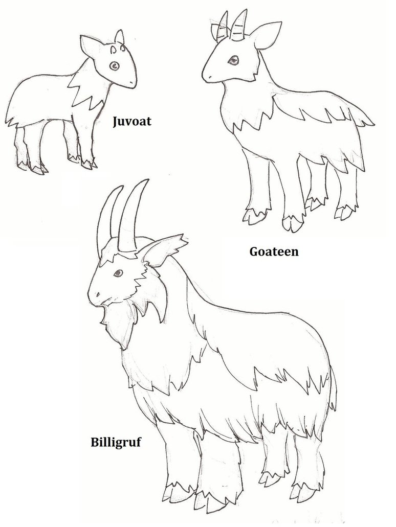 Free Billy Goats Gruff Colour, Download Free Clip Art