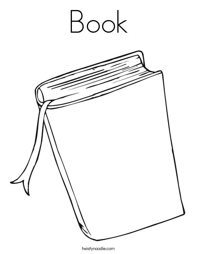 Free Open Book Colouring Pages, Download Free Clip Art