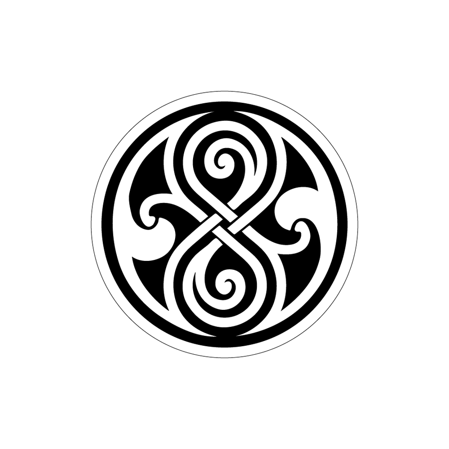 medium resolution of doctor who symbol clipart library