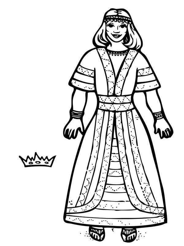 queen queen crown Colouring Pages