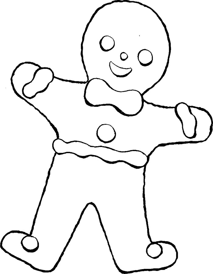 Gingerbread Coloring Pages gingerbread man story coloring