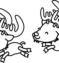 reindeer clipart black and white clipart library free clipart images [ 1979 x 1315 Pixel ]