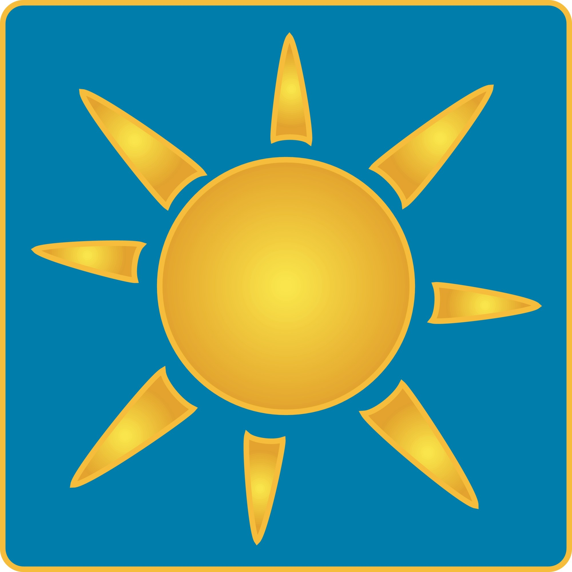 hight resolution of sun rays clip art clipart library