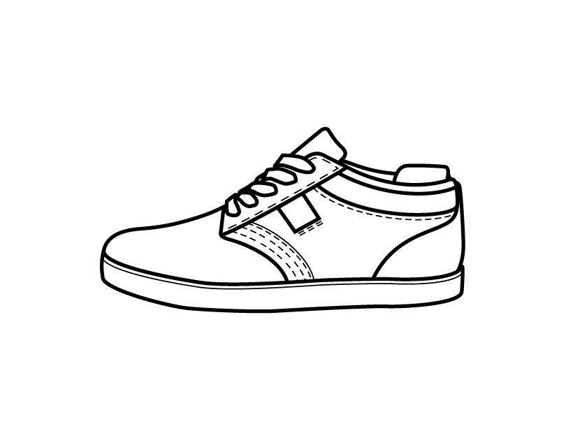 Free Shoes Outline, Download Free Clip Art, Free Clip Art