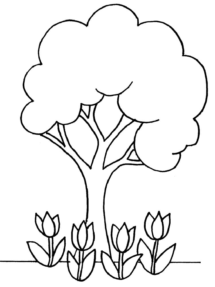 Free Tree Outline Printable, Download Free Clip Art, Free
