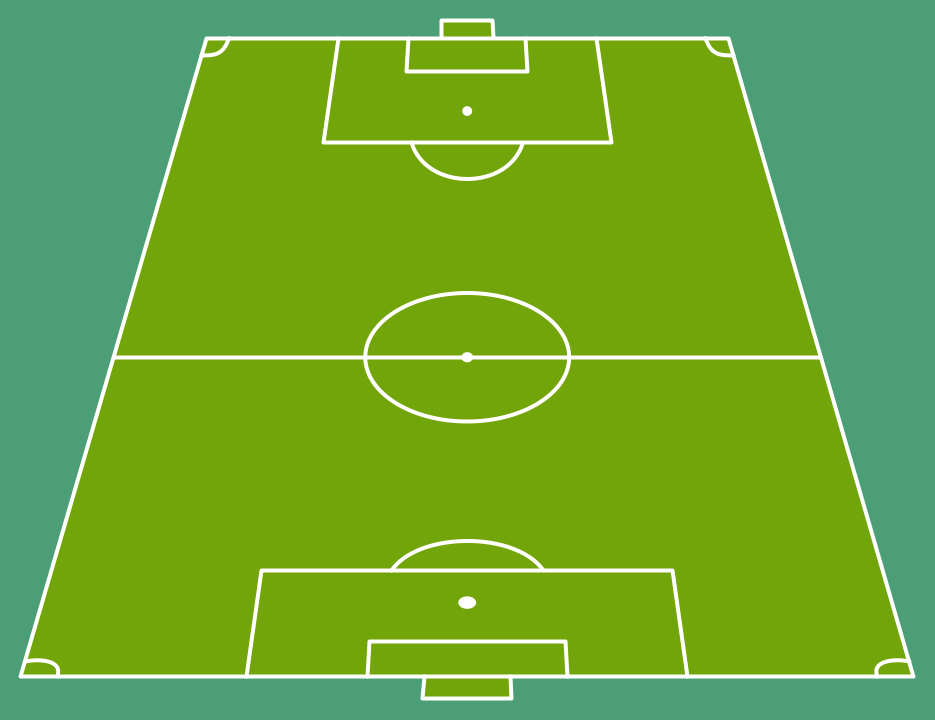 football pitch diagram to print 3800 engine cooling system free soccer field template download clip art on end zone view