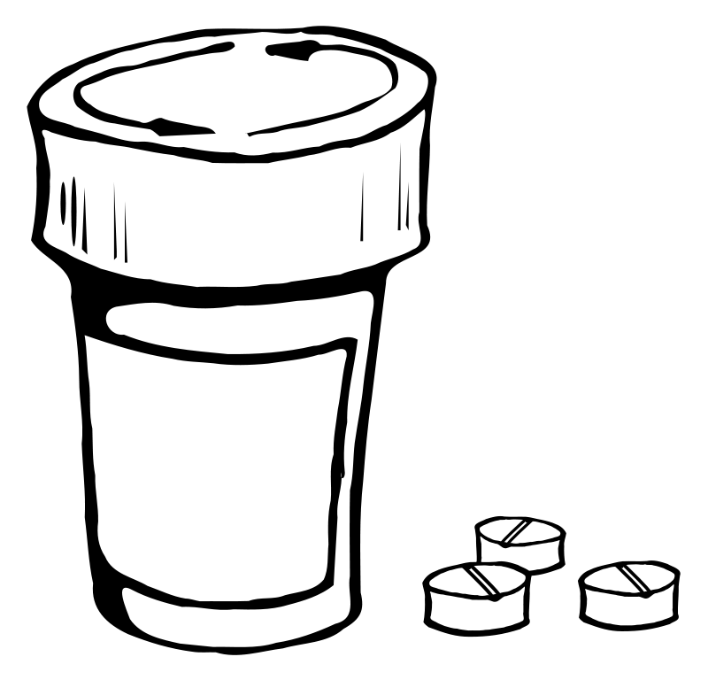 Free Pill Bottle Clipart, Download Free Clip Art, Free