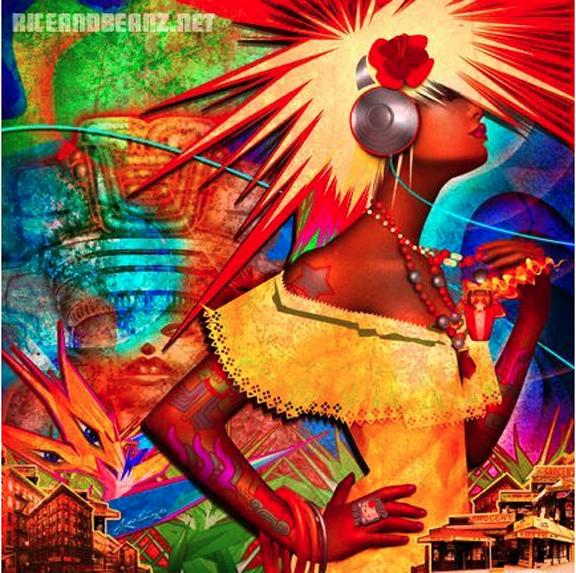 free hispanic art