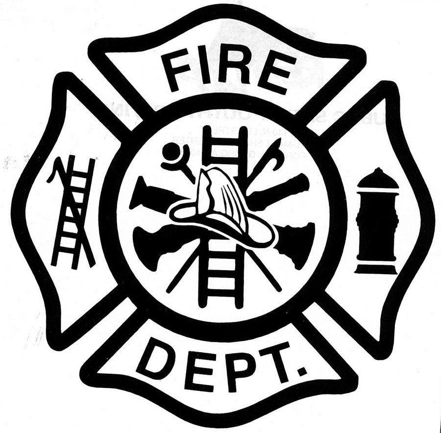 hight resolution of fire department logo clip art gallery