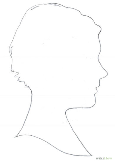 Head Outline Drawing : outline, drawing, Silhouette, Outline,, Download, Clipart, Library