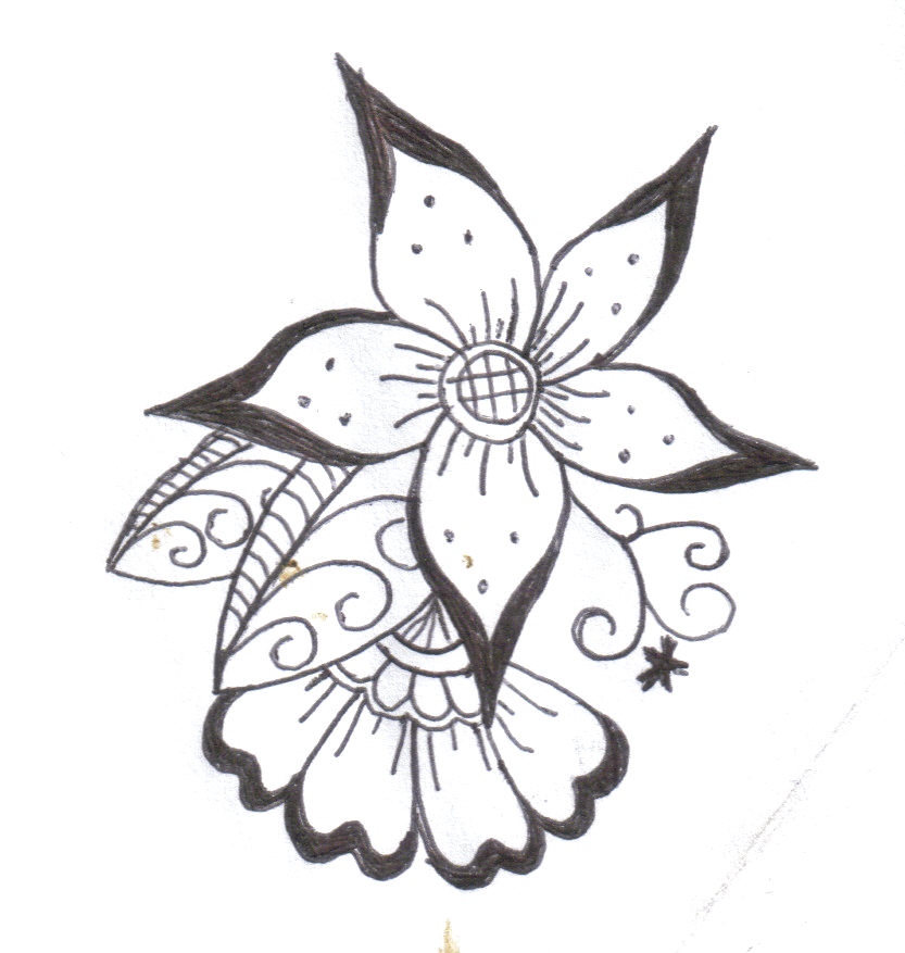 Free Simple Flower Designs, Download Free Clip Art, Free