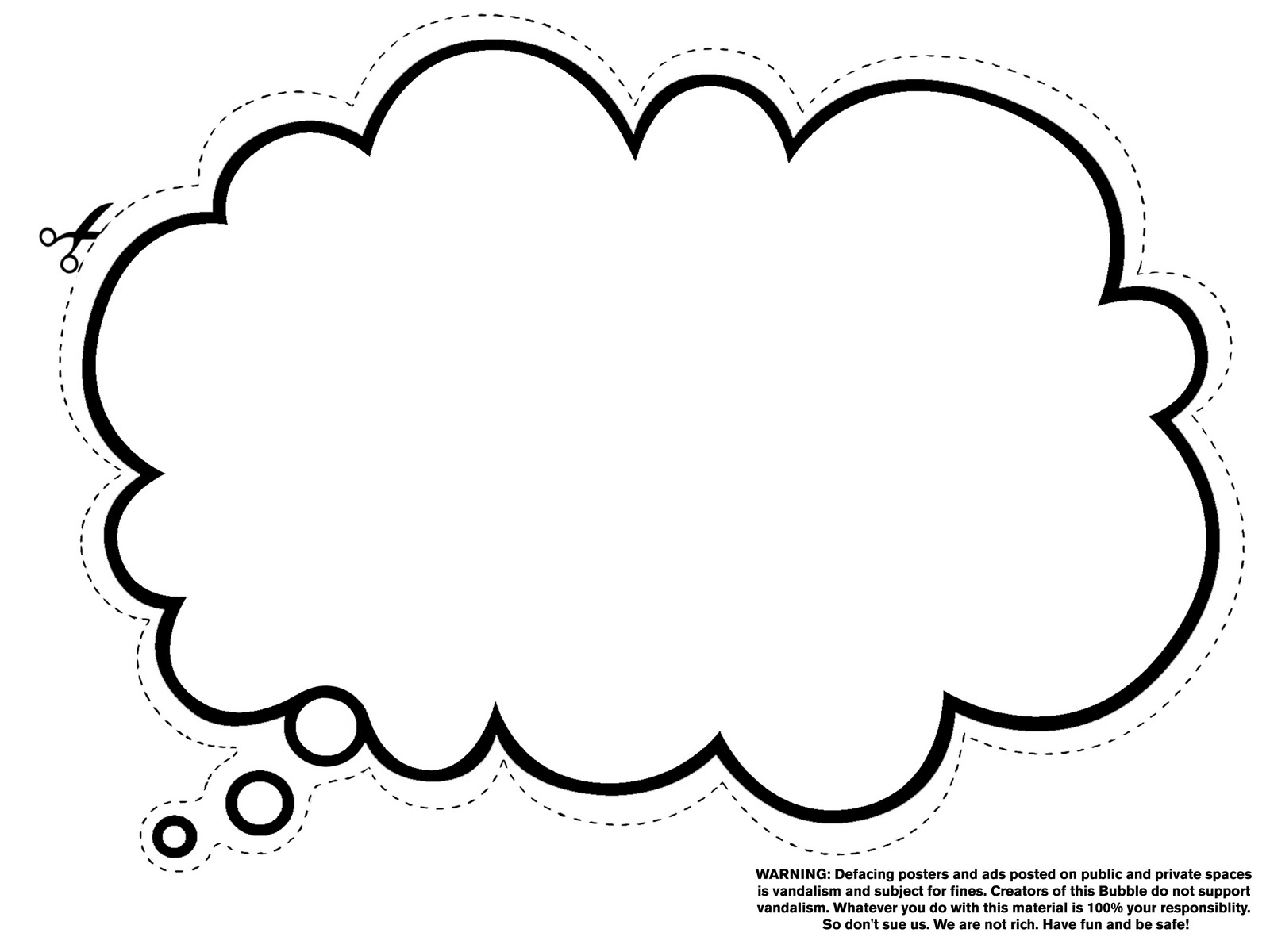 Free Thought Bubble, Download Free Clip Art, Free Clip Art