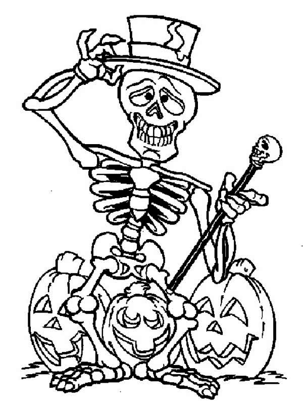 Free Halloween Skeleton Cartoon, Download Free Clip Art
