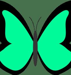 butterfly clip art [ 1969 x 1750 Pixel ]