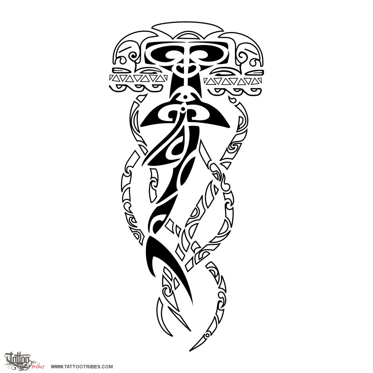 Tribal Jellyfish Tattoo Designs Images Pictures