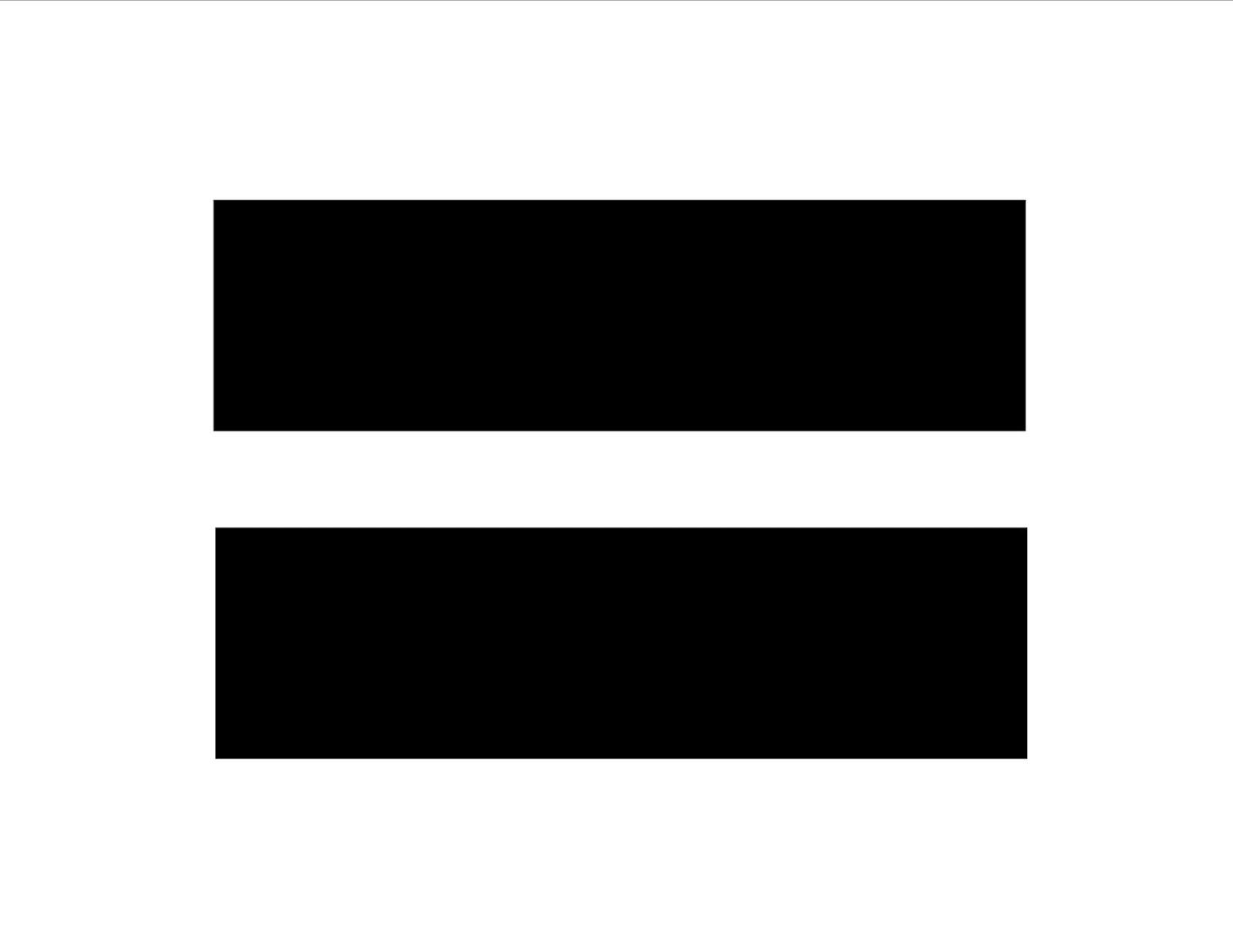 hight resolution of equal sign clip art