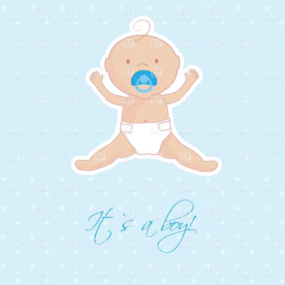 medium resolution of baby boy with pacifier people download royalty free vector clip