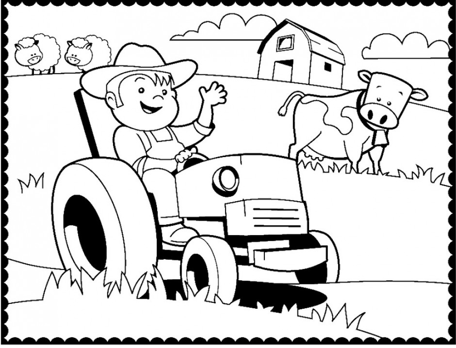 Tractor Coloring Pages Coloring Pages Of A Tractor Steam