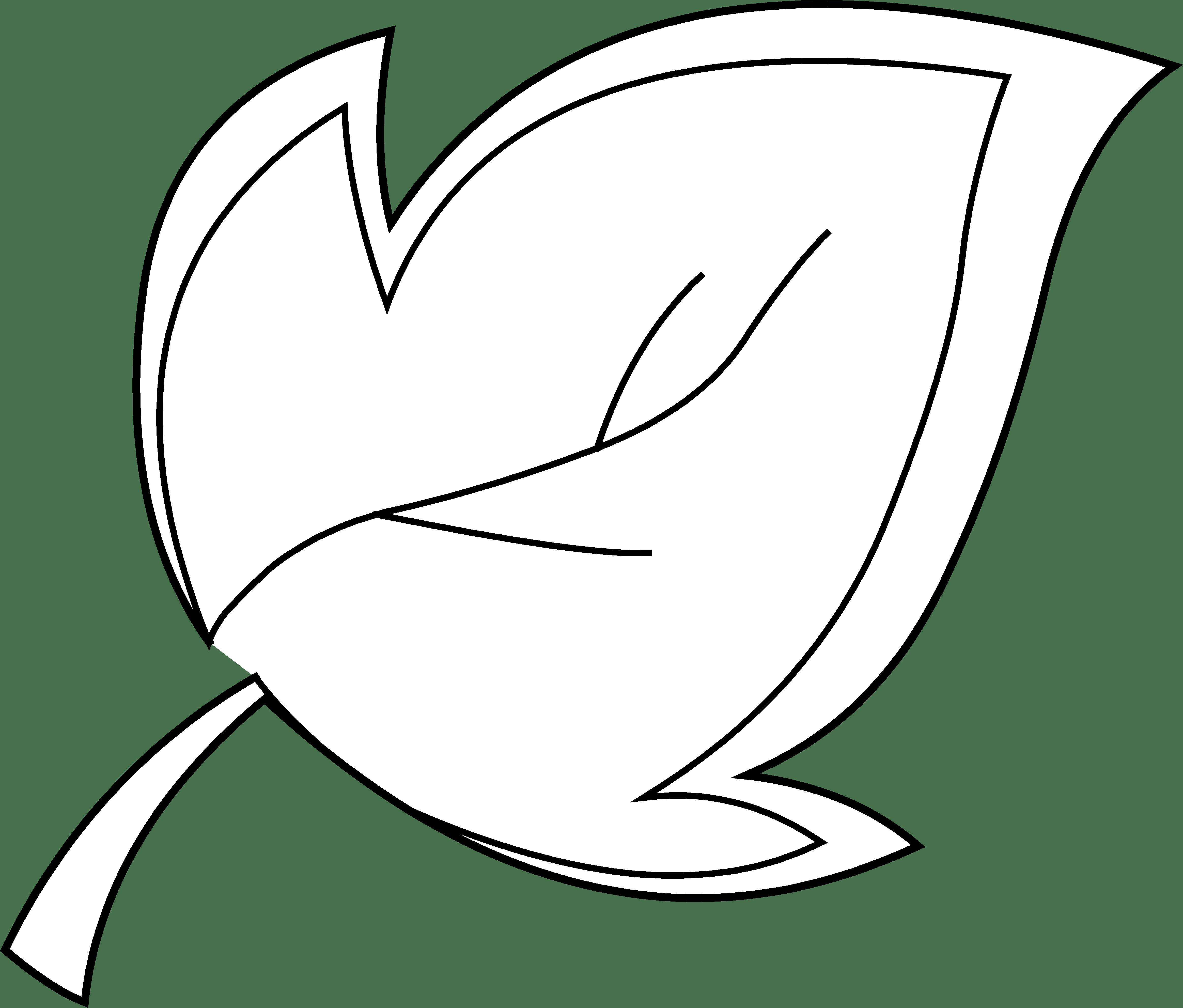 Free Leaf Line Art Download Free Clip Art Free Clip Art