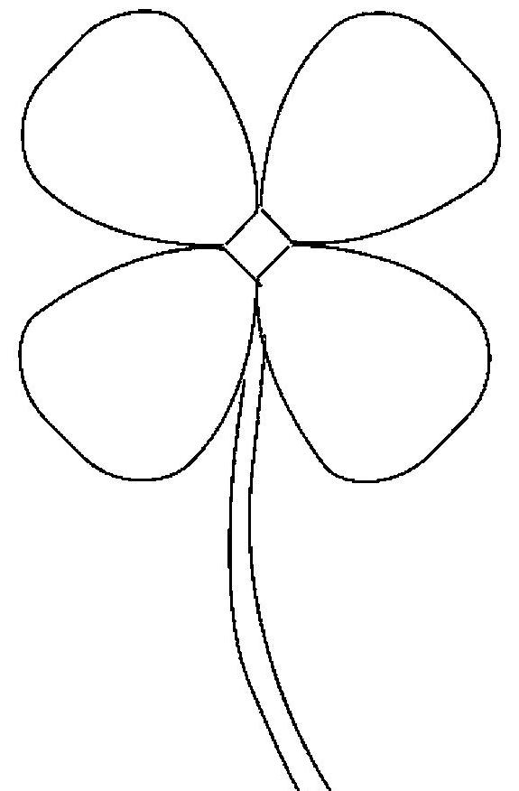 Free Picture Of Four Leaf Clover, Download Free Clip Art