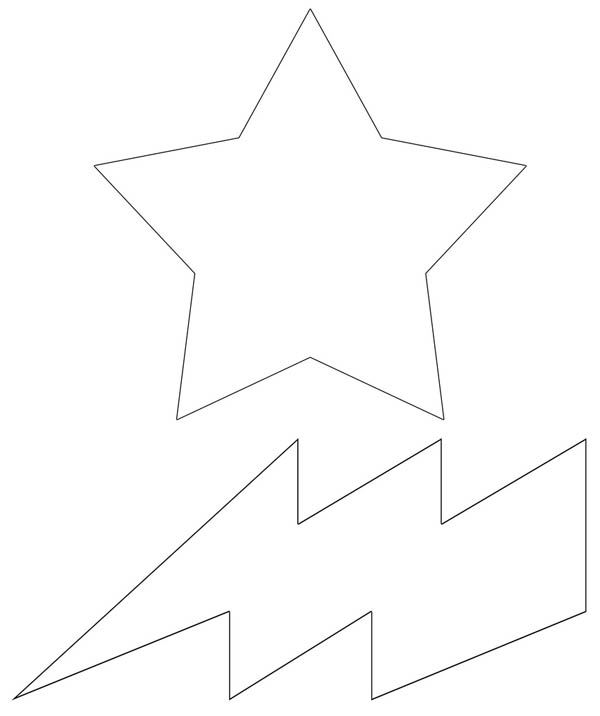 Free Lightning Bolt Coloring Pages, Download Free Clip Art