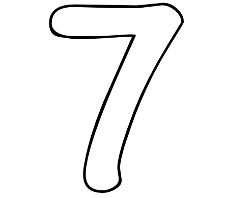 Free Number 7, Download Free Clip Art, Free Clip Art on