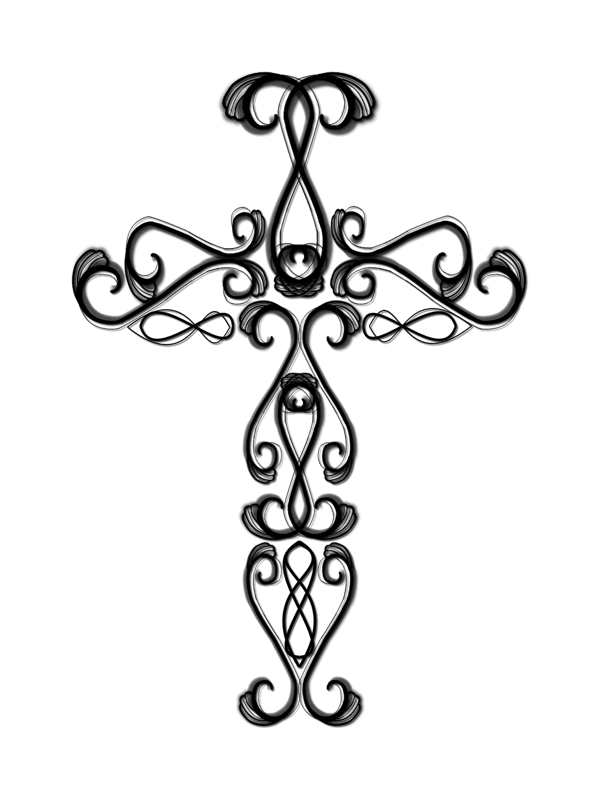 Free Pictures Of Crosses With Ribbons Download Free Clip