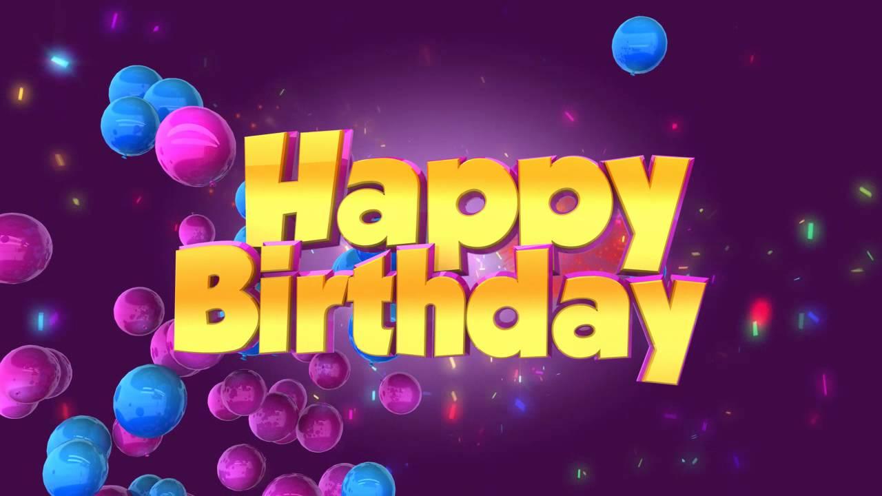 free happy birthday animation