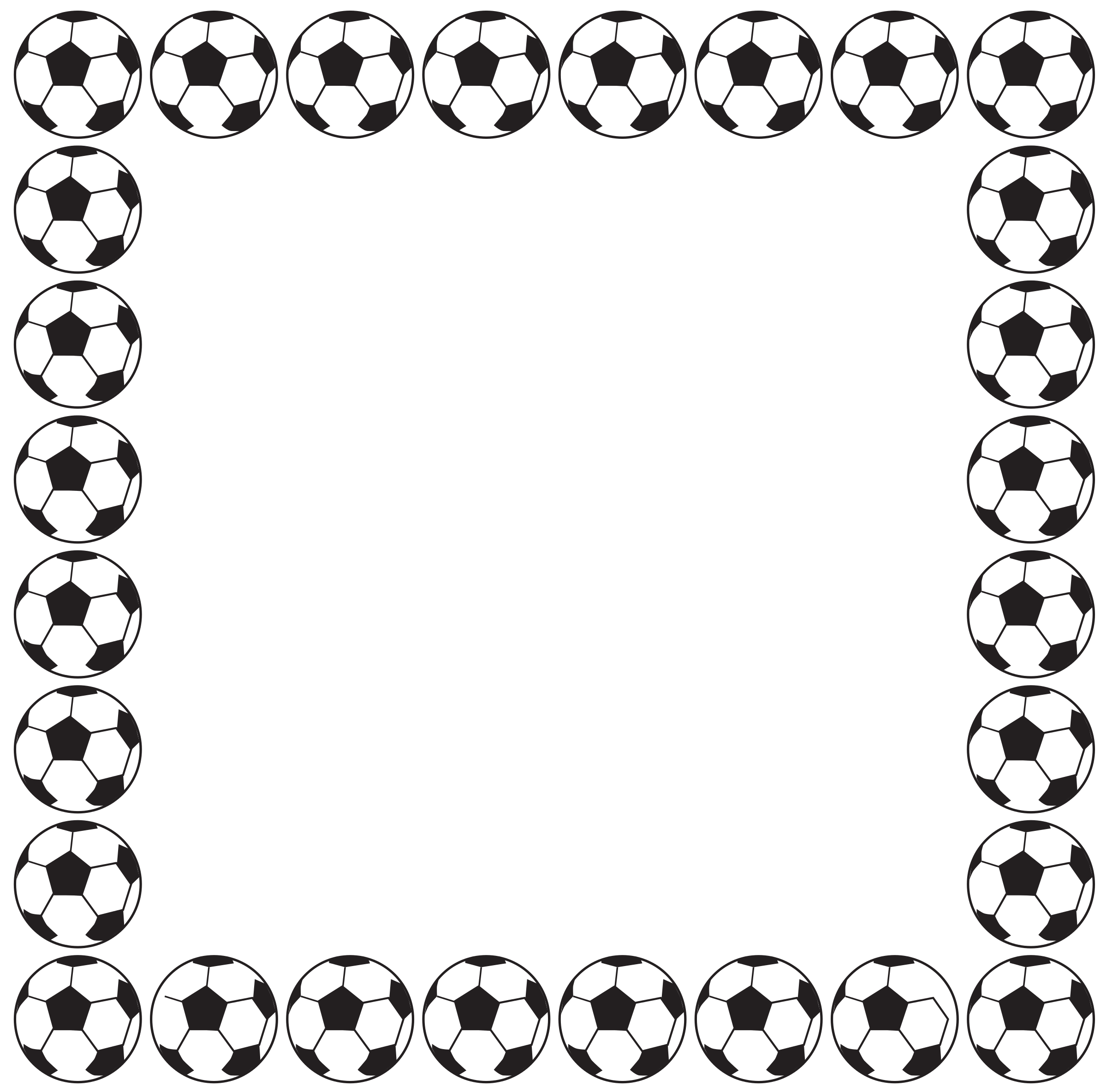 Free Football Borders, Download Free Clip Art, Free Clip