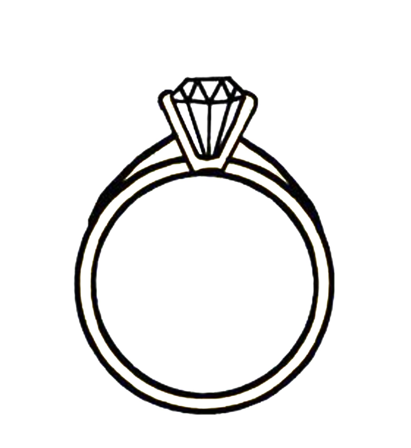 hight resolution of diamond ring clipart clipart library free clipart images