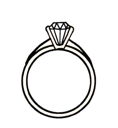 small resolution of diamond ring clipart clipart library free clipart images