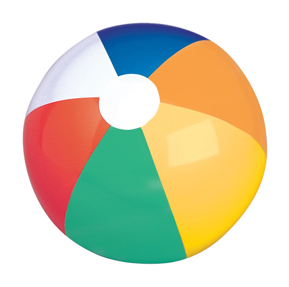 medium resolution of 12 multi color panel beach ball