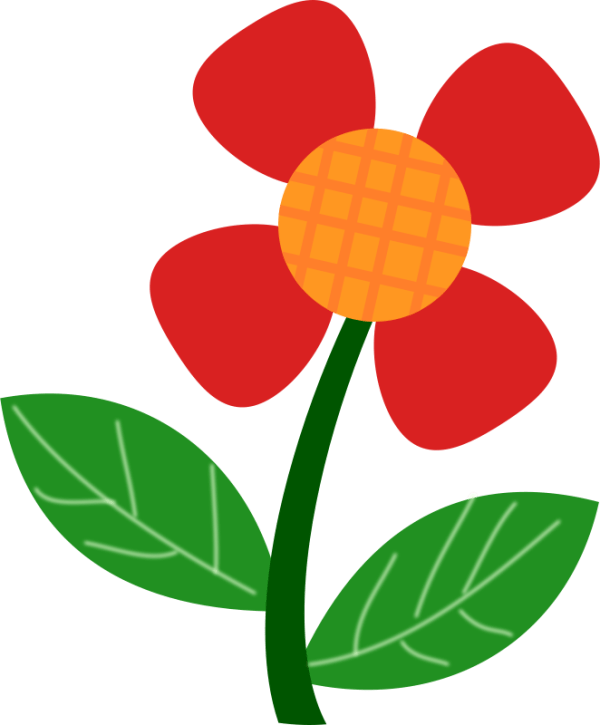 free spring flower clipart