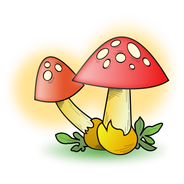 Free Toadstool Clipart Clip Art