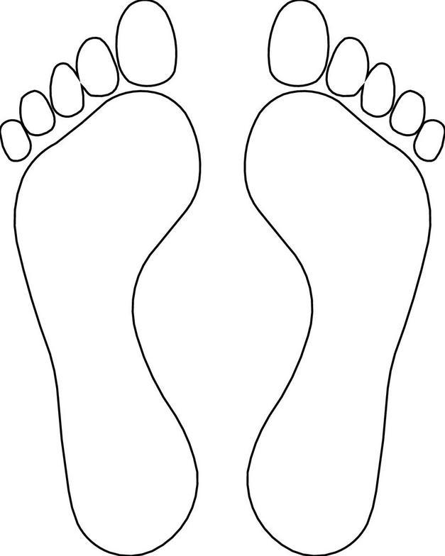 Free Printable Footprints, Download Free Clip Art, Free