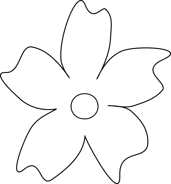 Free 8 Petal Flower Template, Download Free Clip Art, Free