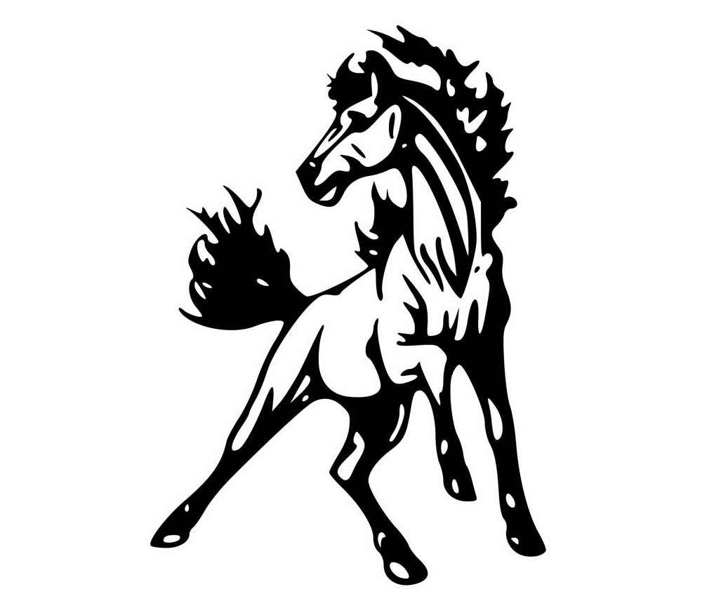 Free How To Draw A Mustang Horse Download Free Clip Art