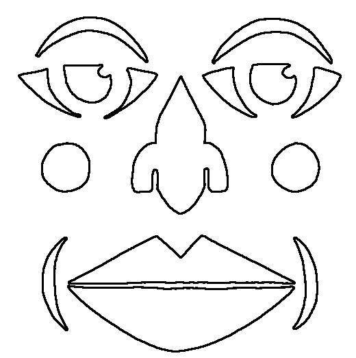 Free Spiderman Face Template, Download Free Clip Art, Free